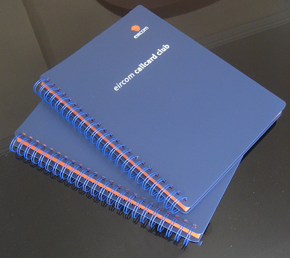 Eircom Callcard Club Folder