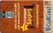 Kellogg's Rice Krispies Chocolate Squares Callcard (front)