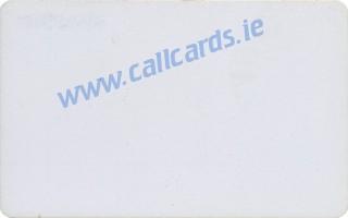 Limerick Trial 50u Callcard (back)