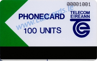 Limerick Trial 100u Callcard (front)