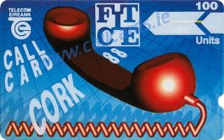 Cork FITCE (F.I.T.C.E) Conference 100u Callcard (front)
