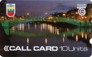 Dublin Millennium 10u Callcard (front)