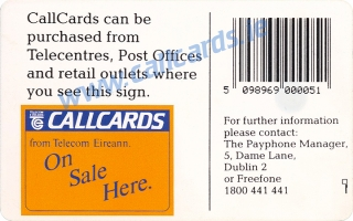 Montage Callcard (back)