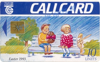 Easter 1993 Callcard (front)