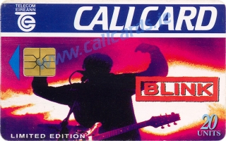 Blink Music Callcard (front)