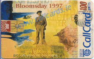 Bloomsday Callcard (front)