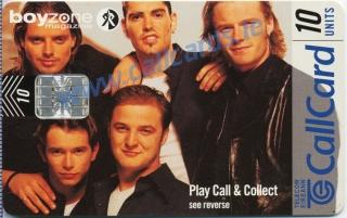 Boyzone Callcard (front)