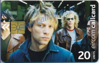 Bon Jovi Callcard (front)