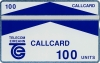 Galway Trial 100u Callcard (front)