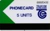Limerick Trial 5u Callcard (front)