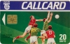 All Ireland Football Callcard (front)