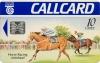 Horse Racing in Ireland Callcard (front)