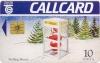 Christmas 1992 Callcard (front)