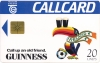 Guinness World Cup Toucan Callcard (front)