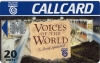 Voices of the World Callcard (front)
