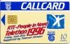 Telethon 1996 Callcard (front)
