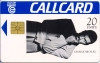 George Michael Callcard (front)