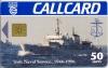 Irish Naval Service (Irish Navy) Callcard (front)