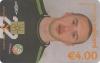 Dean Kiely World Cup 2002 Callcard (front)
