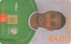 Clinton Morrison World Cup 2002 Callcard (front)