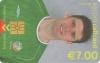 Niall Quinn World Cup 2002 Callcard (front)