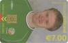 Damien Duff World Cup 2002 Callcard (front)